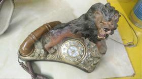 狮子电话机