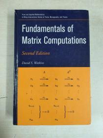 Fundamentals of Matrix Computations(矩阵计算基础):second edition(第二版)