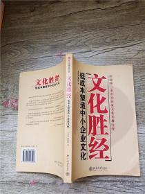 文化胜经 低成本塑造中小企业文化【扉页有笔迹】