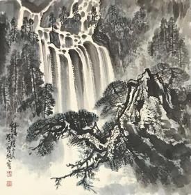 刘宝纯精品山水(附带出版画册