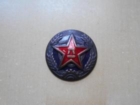 【50年代,公安军,帽徽】