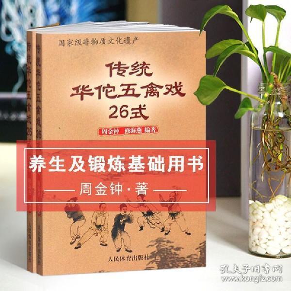 传统华佗五禽戏26式