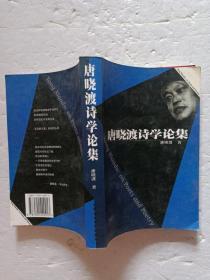 唐晓渡诗学论集 作者签名本