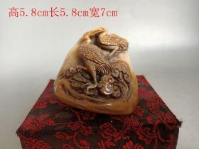 清代寿山石印章
