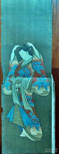 日本怀月堂派画作 江户时期浮世绘的一个流派