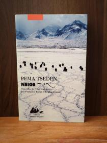 NEIGE (LITTERATURE GRAND FORMAT)【法文原版,雪】