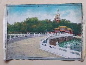中国杭州都锦生丝织厂—— 北京北海白塔