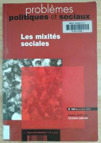 法文原版书 Les mixités sociales (Français) Broché – 30 octobre 2006 de LELEVRIER CHRISTINE (Auteur)