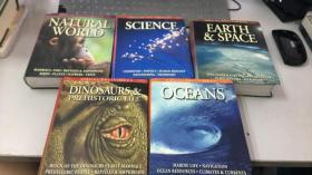 VISUAL FACTFINDER(oceans,natural world,science,dinosaurs&prehistoric life,earth&space)