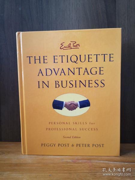Emily Post's The Etiquette Advantage in Business 2e