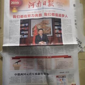 《河南日报》2019年1月1日