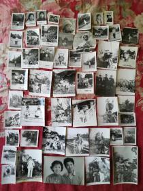老照片(五十年代至八十年代)51张合售