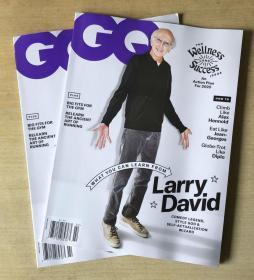 美国版 GQ2020年2月 英文时尚男士服装英语杂志