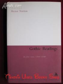 Gothic Readings: The First Wave, 1764-1840(英语原版 平装本)哥特式读物:第一波,1764-1840年