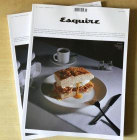 英国版Esquire时尚先生2020年1-2月合刊 英文男士时尚时装杂志