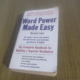 Word Power Made Easy: The Complete Handbook for Building a Superior Vocabulary 英文原版