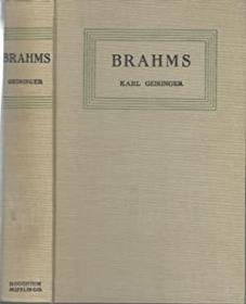1936年出版,勃拉姆斯的生活与工作