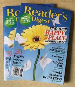 美国版 READER'S DIGEST 读者文摘2020年6月 英文生活类杂志