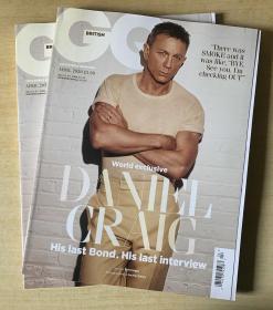 英国版 GQ2020年4月 英文时尚男士服装英语杂志