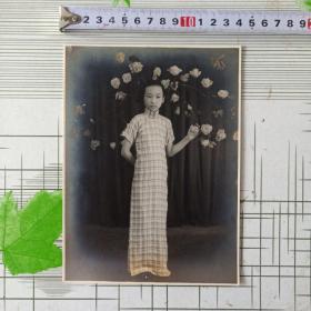 民国旗袍美女照9