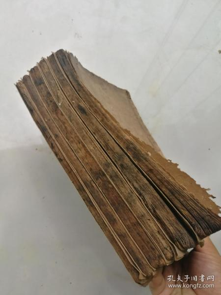 刻本,清早期木刻大本,学源堂铜板四书发注一套全。含大学中庸一册一套全,论语十卷二册一套全,孟子七卷三册一套全。