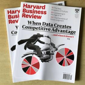 Harvard Business Review哈佛商业评论2020年1-2月合刊 英文杂志