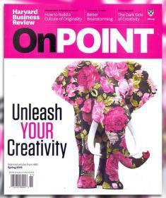 英文版Harvard Business Review OnPoint 哈佛商业评论2019年春季特刊