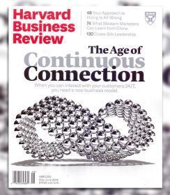 Harvard Business Review哈佛商业评论2019年5-6月合刊英文版杂志