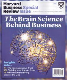 Harvard Business Review 哈佛商业评论2019年特刊NO.1英文版杂志