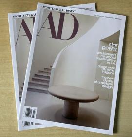 AD ARCHITECTURAL DIGEST建筑辑要2020年3月美国建筑设计英文杂志