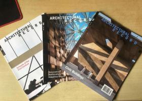 Architectural Record建筑辑要2019年1-3月 美国建筑设计英文杂志