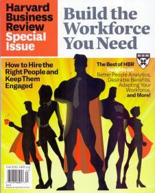 英文版Harvard Business Review OnPoint 哈佛商业评论2019年秋季特刊
