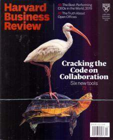Harvard Business Review哈佛商业评论2019年11-12月合刊英文杂志
