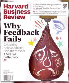 Harvard Business Review哈佛商业评论2019年3-4月合刊英文版杂志