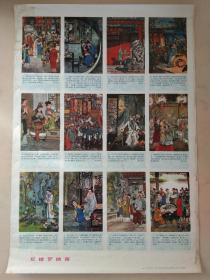 红楼梦插图,名家戴敦邦绘,红楼梦经典年画。