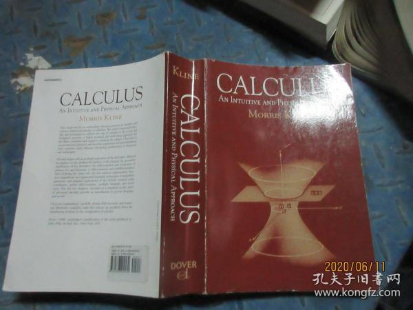 Calculus:An Intuitive and Physical Approach