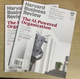 Harvard Business Review哈佛商业评论2019年7-8月合刊英文杂志