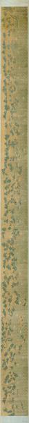 古地图1636-1912 福建省海岸全图。纸本大小83.26*1187.48厘米。宣纸原色微喷印制。