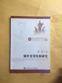 京师刑事法文库:强奸犯罪比较研究