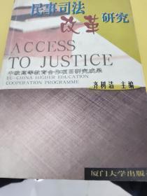 民事司法改革研究