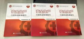 安全生产行政执法标准指引上下 常用安标1、2 + 危化品