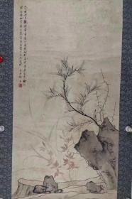 徐邦达      尺寸   86/46    立轴(1911.7.7-2012.2.23)字孚尹,号李庵,又号心远生、蠖叟,又名 徐旁  、浙江海宁人,生于上海。早年从事美术创作,1947年曾在上海中国画苑举办个人画展。1950年调北京国家文物局,主要从事古书画的鉴定工作。 1953年以各地征集和收购到的3500幅珍贵书画作品为基础,重建故宫博物院书画馆。