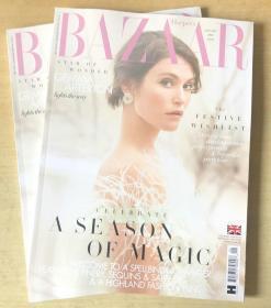 英国版 HARPER`S BAZAAR芭莎2020年1月 英文时尚女士服装杂志