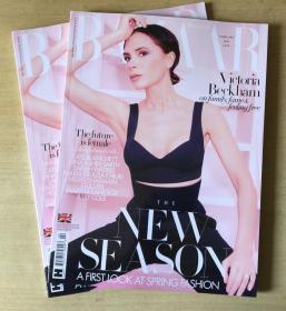英国版 HARPER`S BAZAAR芭莎2020年2月 英文时尚女士服装杂志