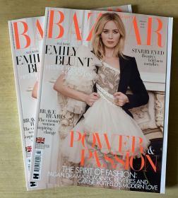 英国版 HARPER`S BAZAAR芭莎2020年3月 英文时尚女士服装杂志