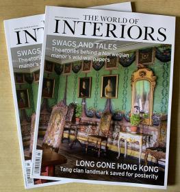 英文The World of Interiors家居世界2020年3月英国家居设计杂志
