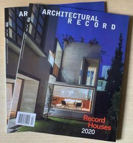 美国版 Architectural Record建筑评论2020年4月英文建筑设计杂志