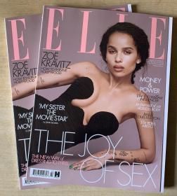 英国版 ELLE 2020年3月 女士时尚服饰潮流服装英文杂志