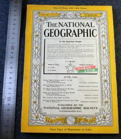 1945年6月号美国国家地理杂志,大量40年代甘肃四川青海影像以及山东泰山的专题报道, 二战中印公路通车等。。。
