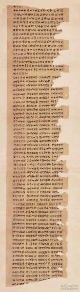 1058敦煌遗书 大英博物馆 S8831莫高窟 大乘妙法莲华经手稿。纸本大小25*91厘米。宣纸原色仿真。微喷复制